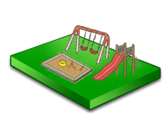 Césped Artificial parques infantiles
