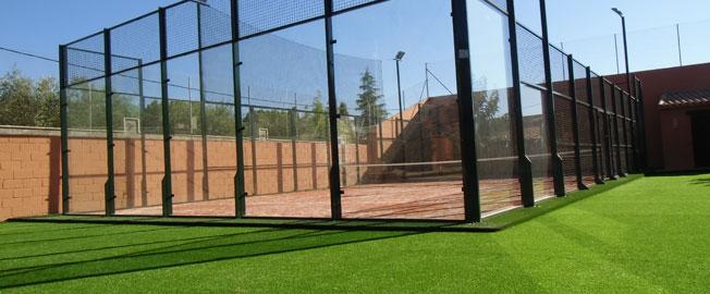 Césped Artificial VerdePadel seccion-pistas-deportivas