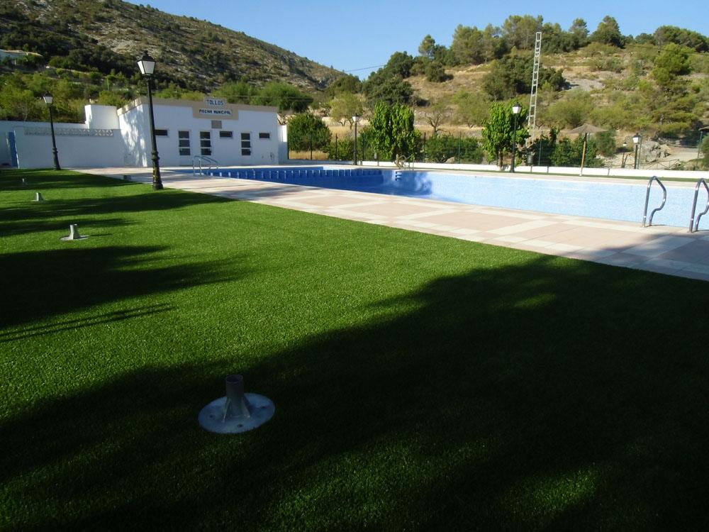 C sped artificial en jardines como elemento decorativo - Suelos para jardines exteriores ...