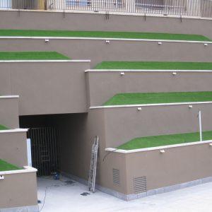 Césped artificial decorativo para jardines residencial 2