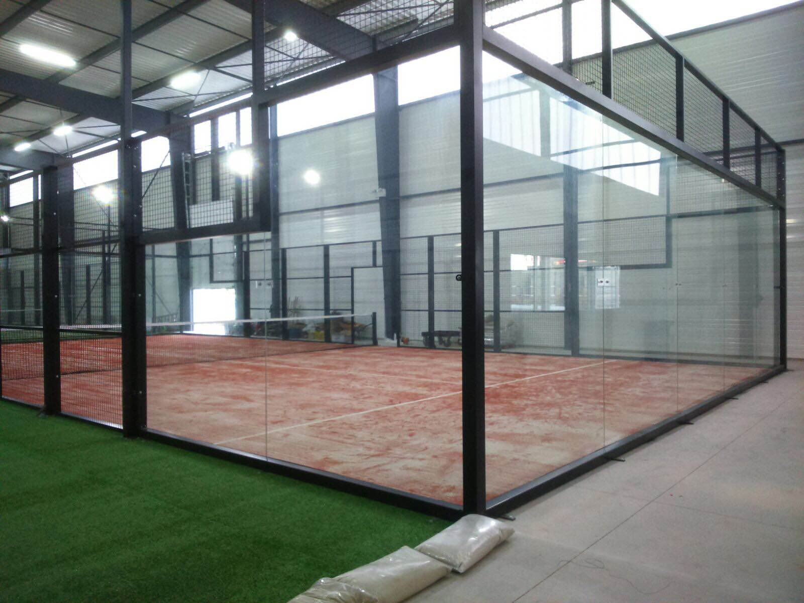 construccion pistas padel savenay