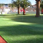 usos del cesped artificial deportivo minigolf